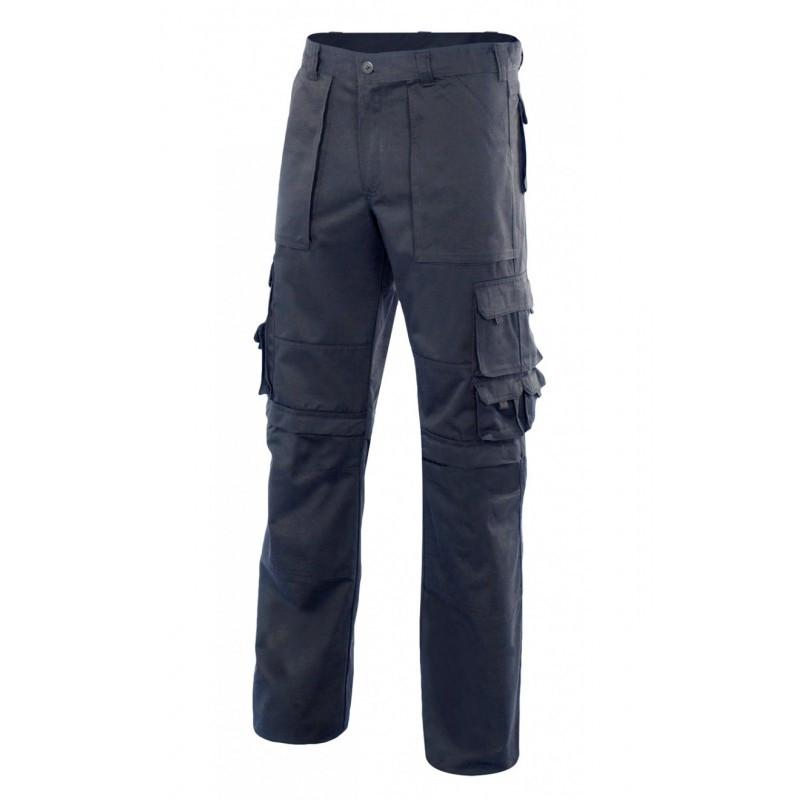 Pantalón azul marino con...