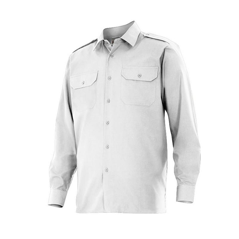 Camisa de trabajo manga...