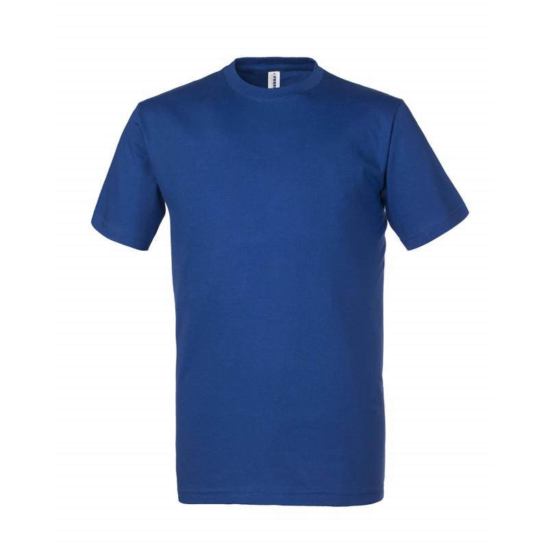 Camiseta de trabajo azul...