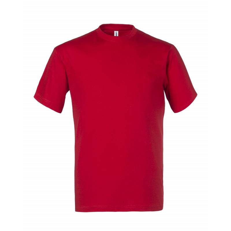 Camiseta de trabajo roja -...