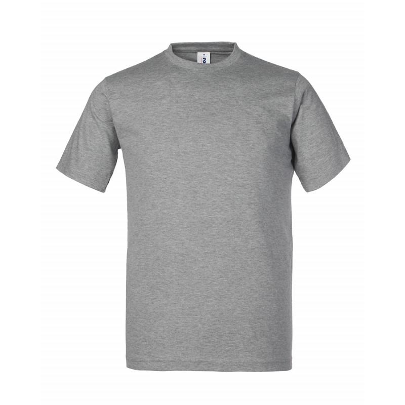 Camiseta de trabajo gris -...