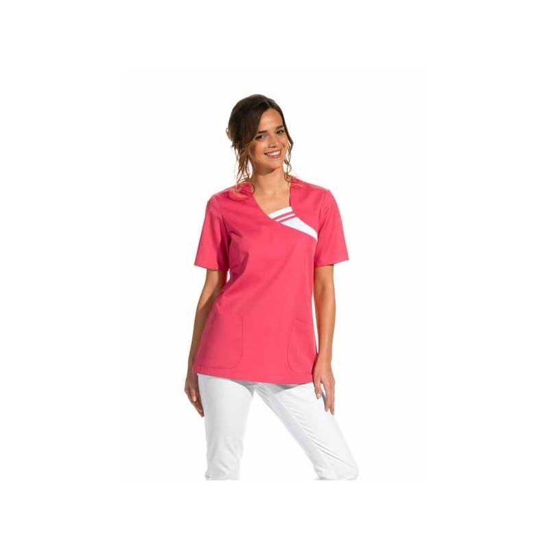 Camisola laboral color rosa...