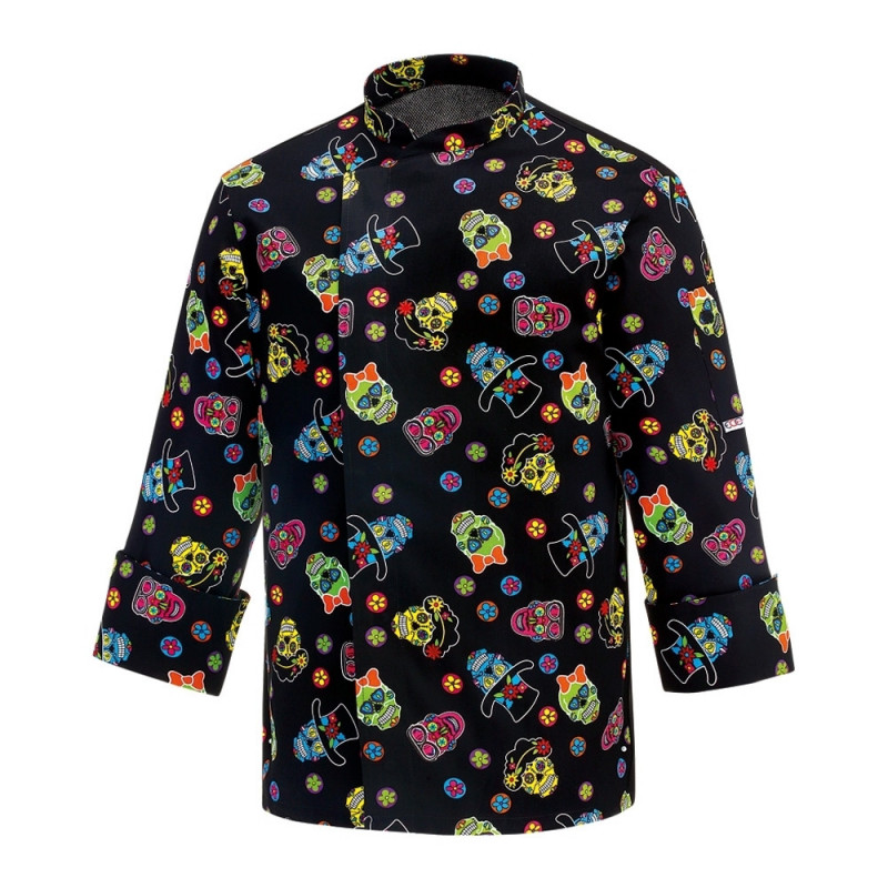 Chaqueta de chef estampada...