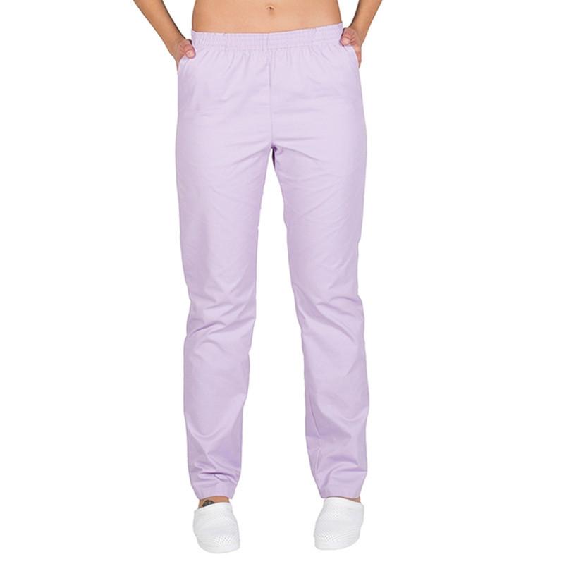 Pantalón sanitario lila con...