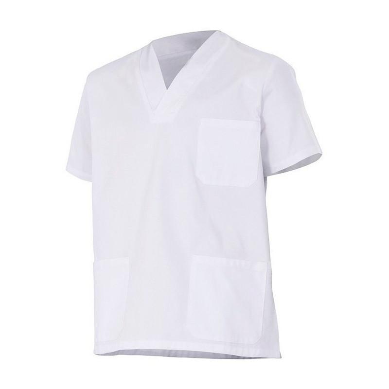 Camisola pijama blanca con...