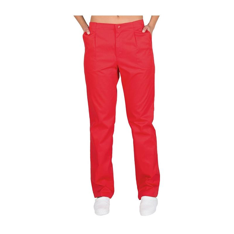 Pantalón sanitario rojo con...
