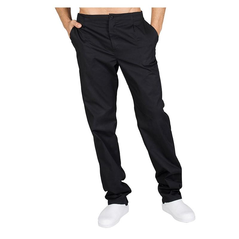 Pantalón laboral negro con...