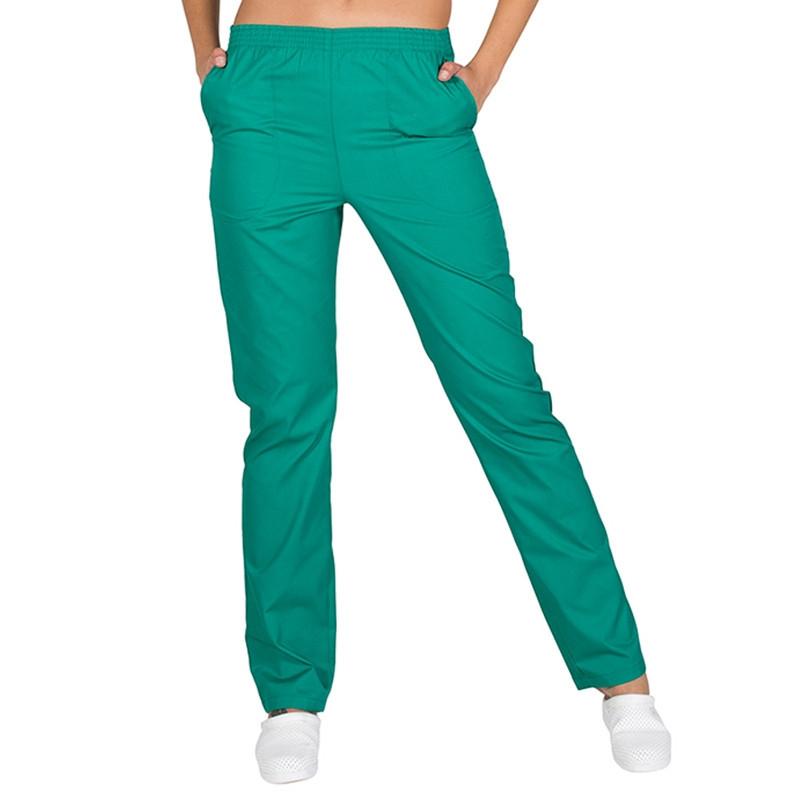 Pantalón pijama verde con...