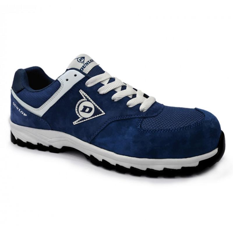 Zapato de seguridad azul...