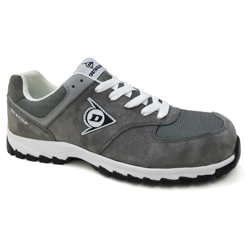 Zapato de seguridad gris...