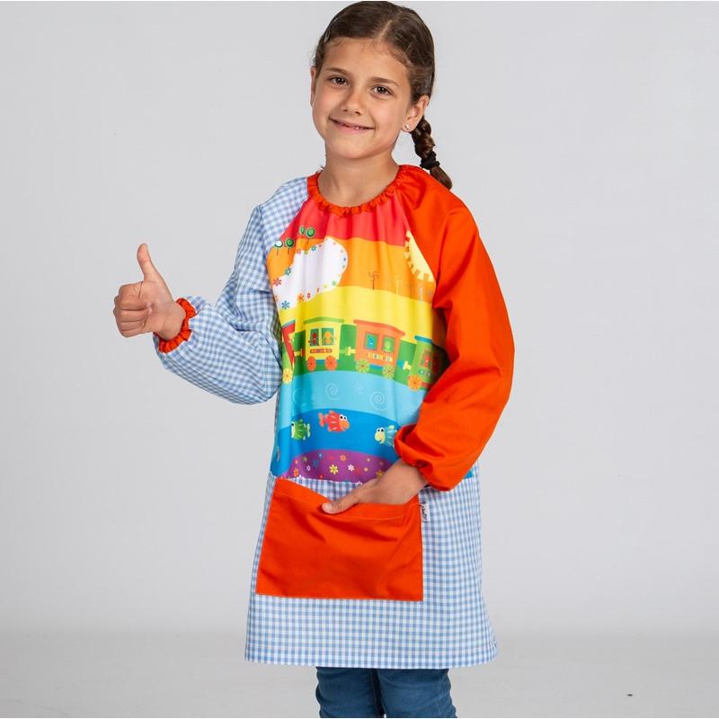 Babi escolar multicolor...
