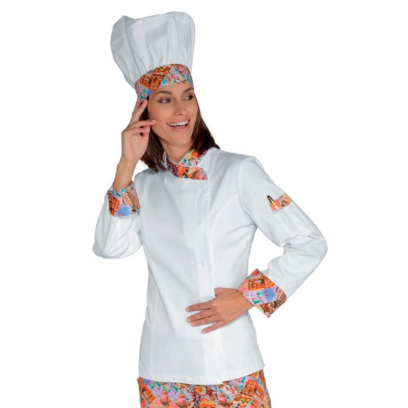 Chaqueta cocinera blanca...