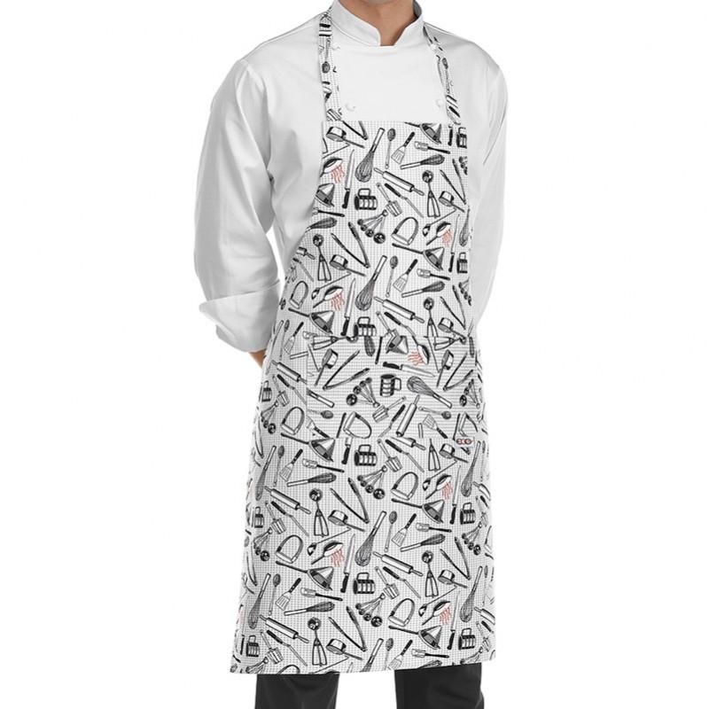 Delantal con peto Chefwear...