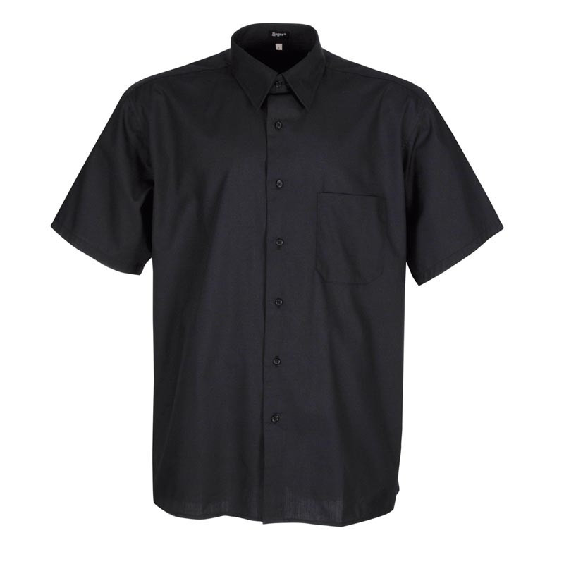 Camisa camarero negra de...