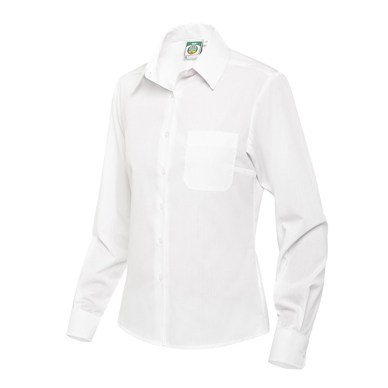 Camisa mujer blanca manga...