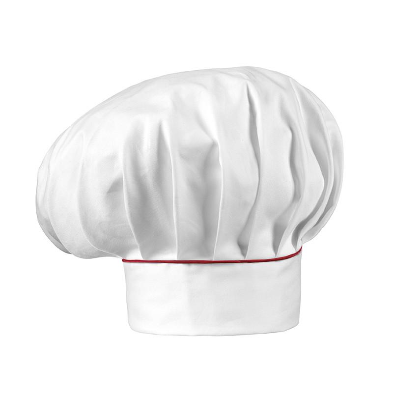 Gorro gran chef blanco con...