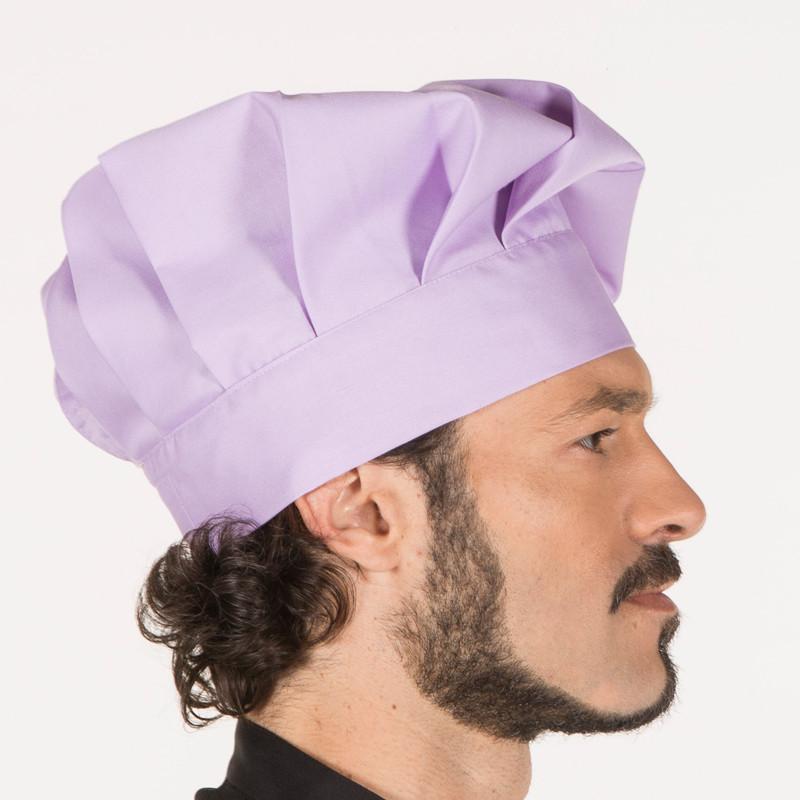 Gorro gran chef lila con...