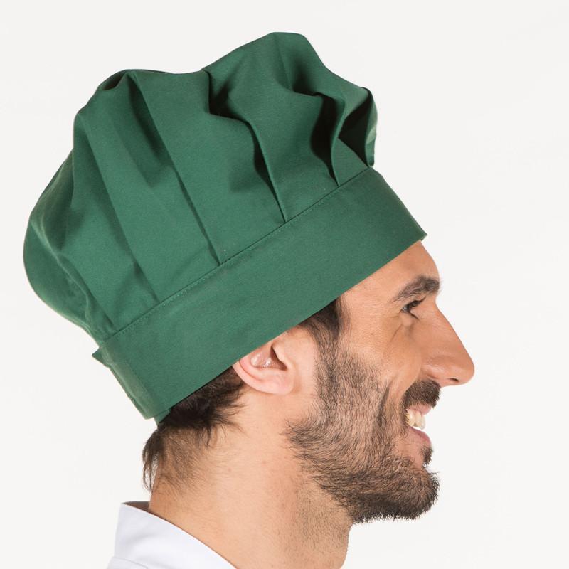 Gorro gran chef verde...