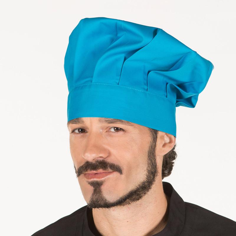 Gorro gran chef turquesa...