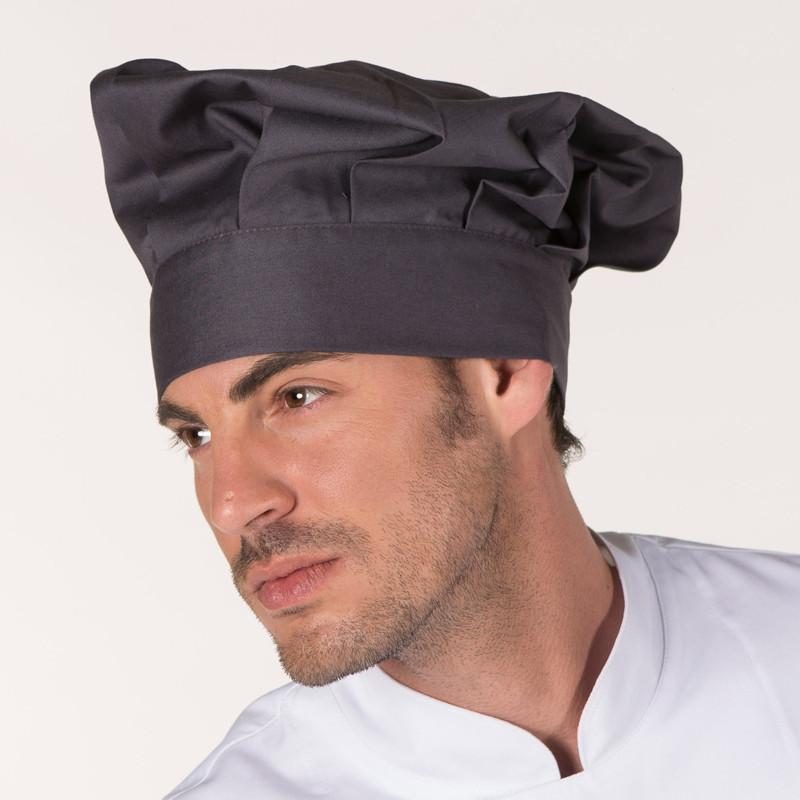 Gorro gran chef gris...