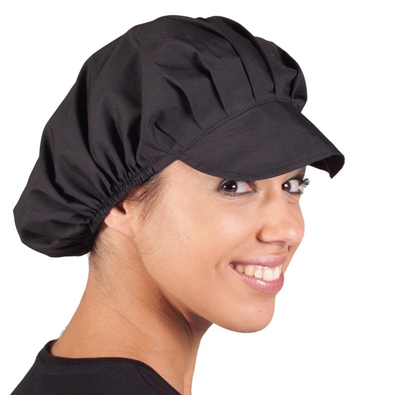 Gorras negras popelín en...