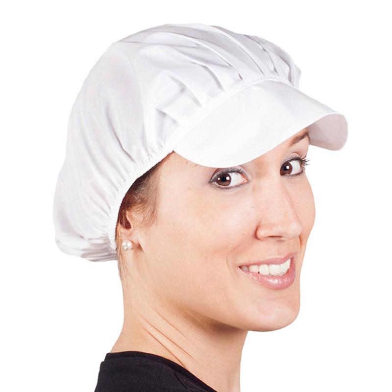 Gorras blancas popelín en...