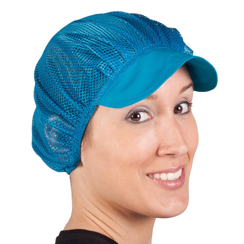 Gorras de rejilla turquesa...