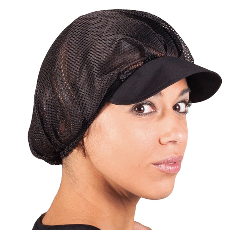 Gorras de rejilla negra...