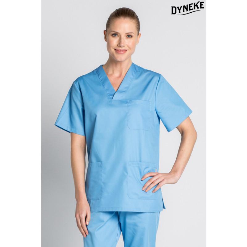 Casaca pijama celeste - Dyneke
