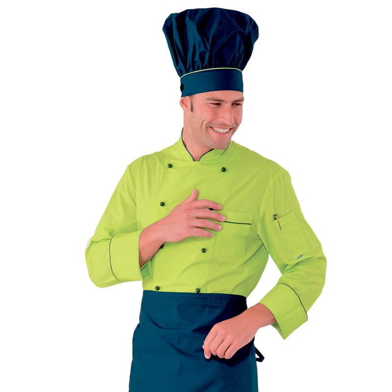 Chaqueta de chef verde Cake...