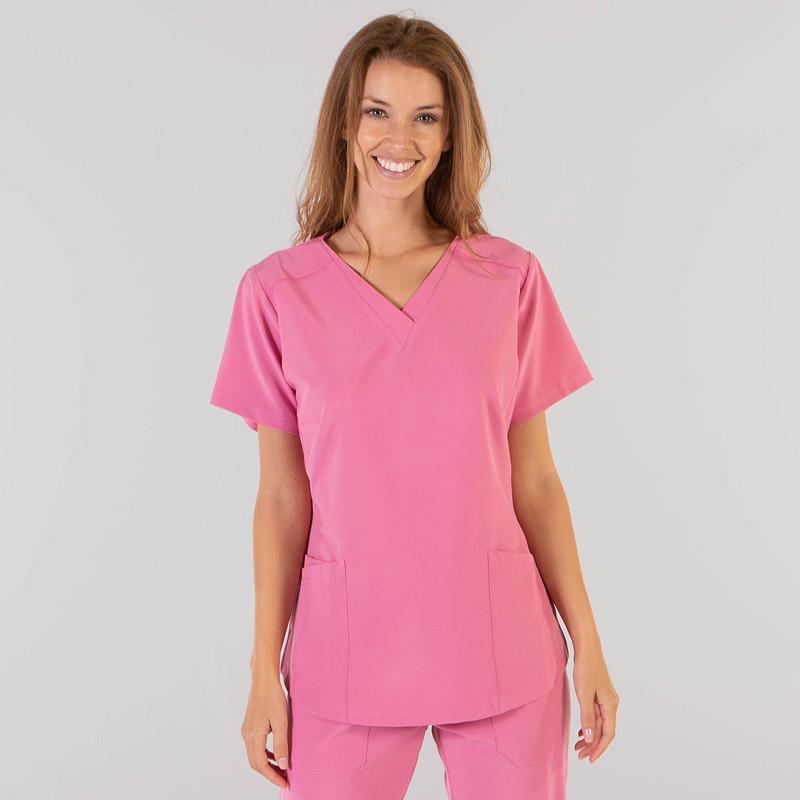 Camisola de mujer rosa de...