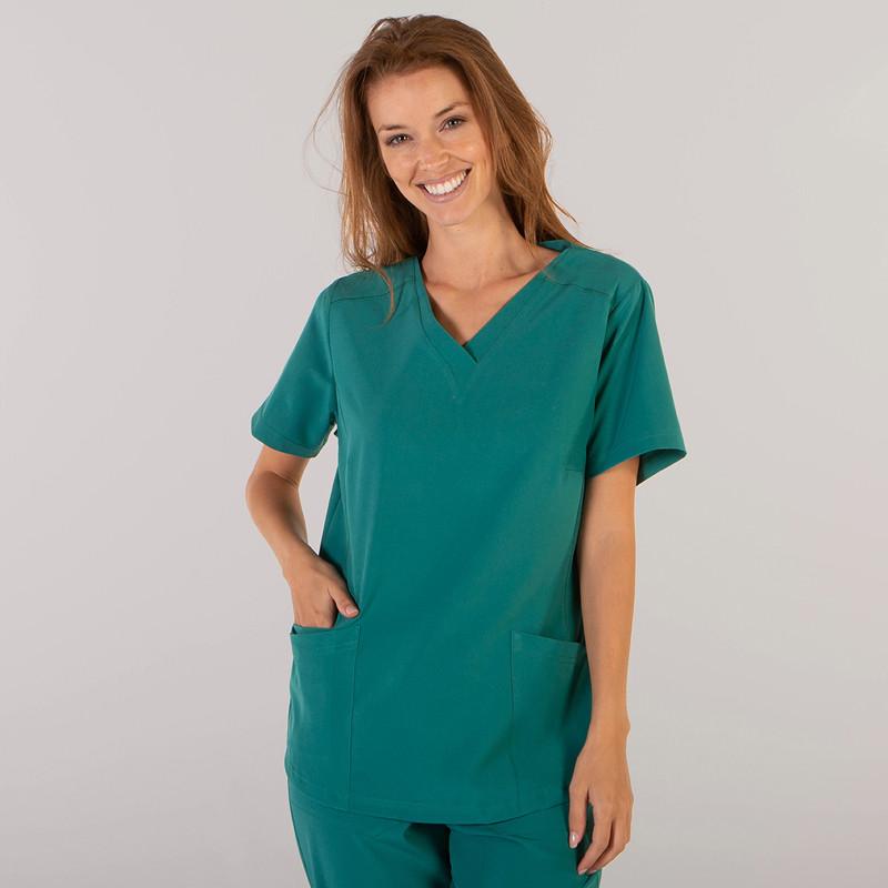 Camisola de mujer verde de...