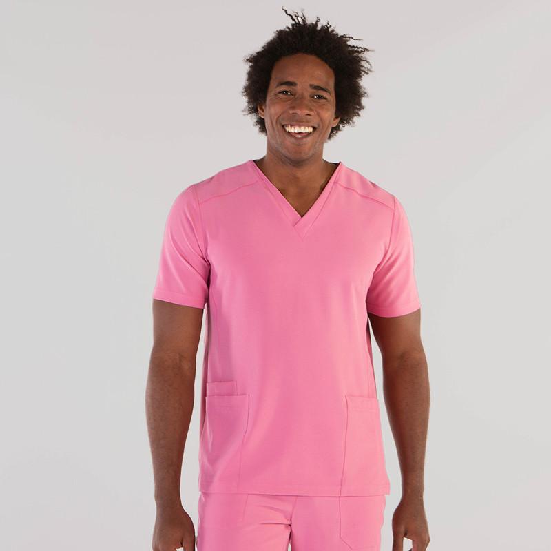 Camisola sanitaria rosa de...