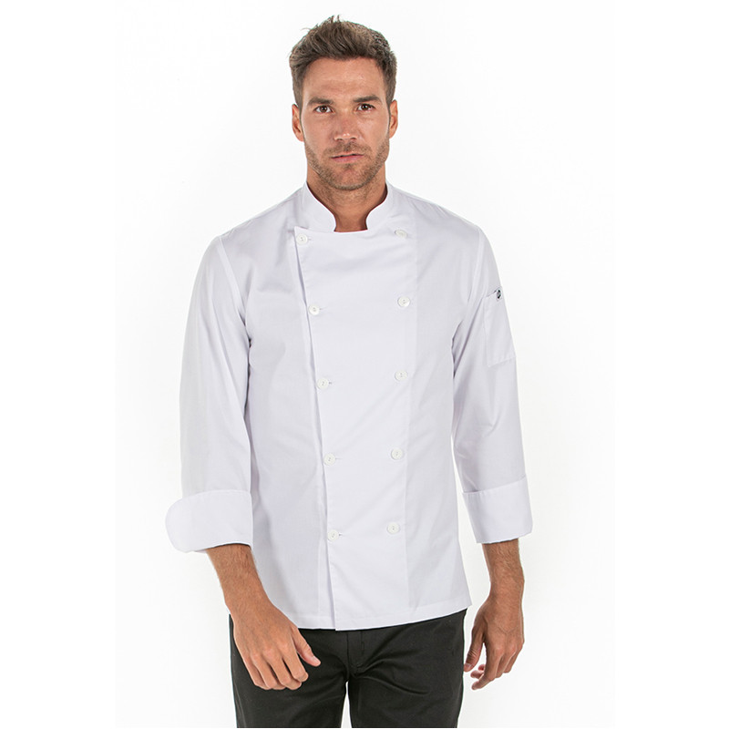 Chaqueta de cocinero blanca...