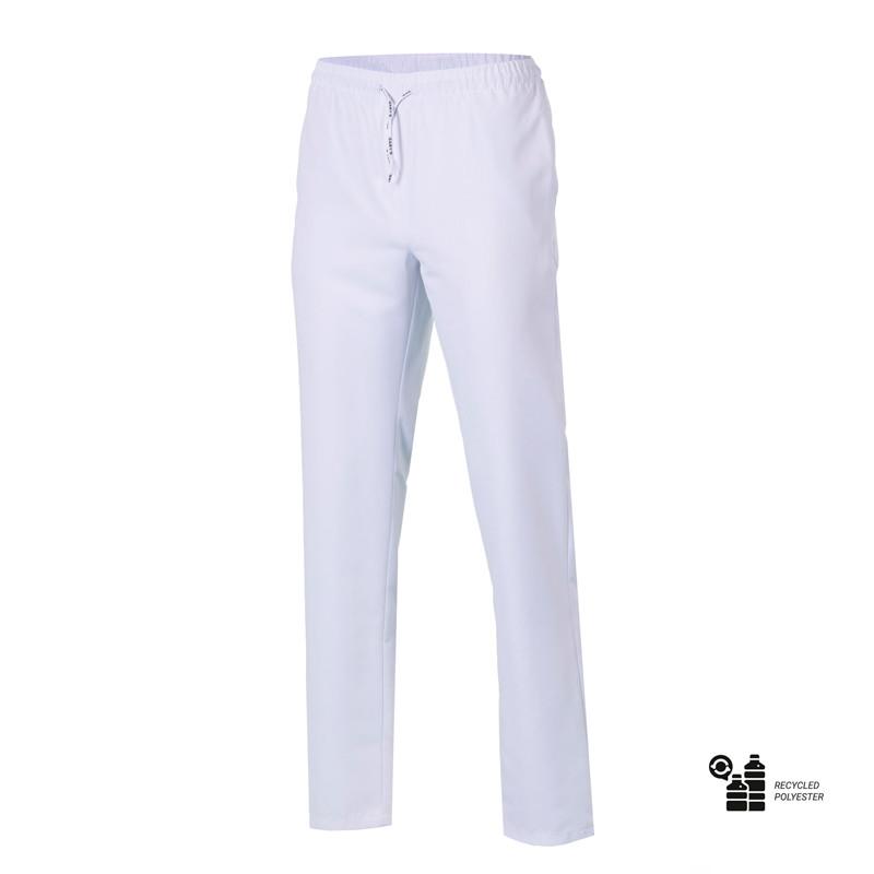 Pantalón laboral blanco...