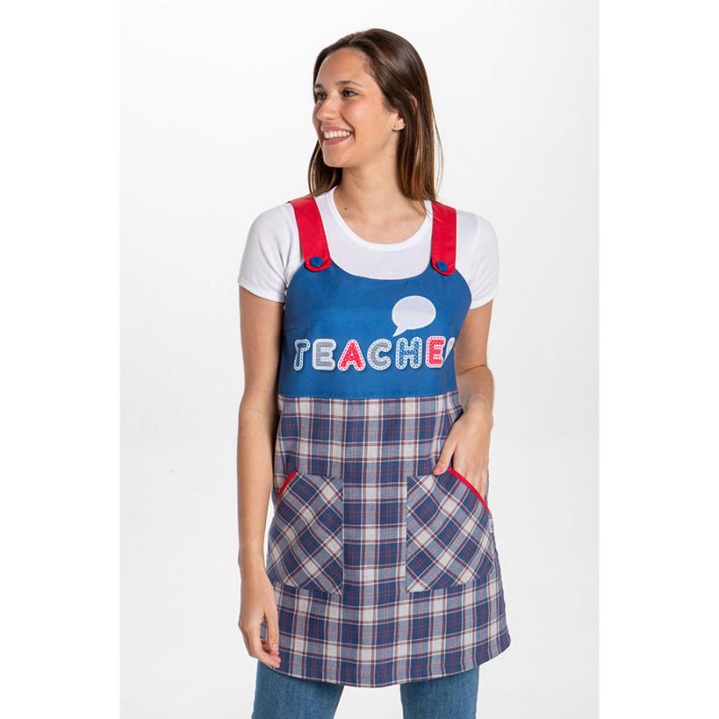 Pichi de maestra azul...