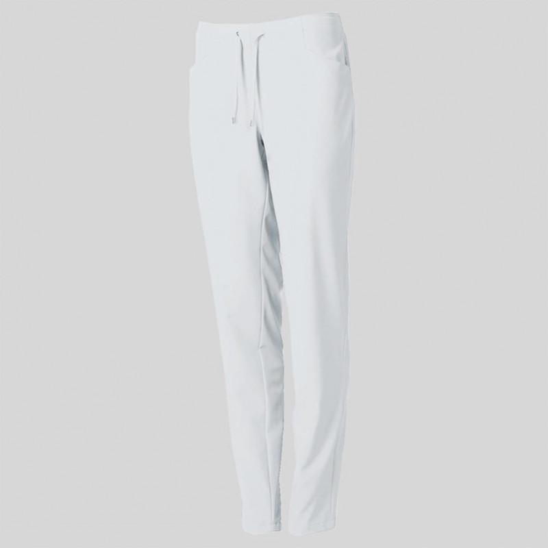 Pantalón blanco de...