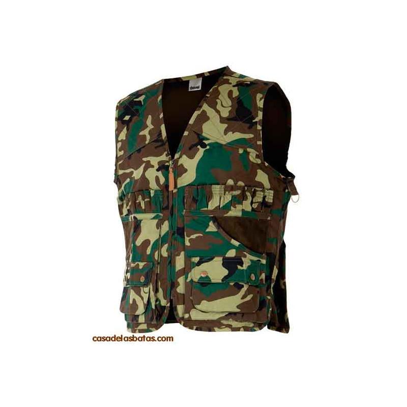 Chaleco de caza / camuflaje